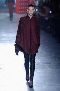 Стиль моды бордо