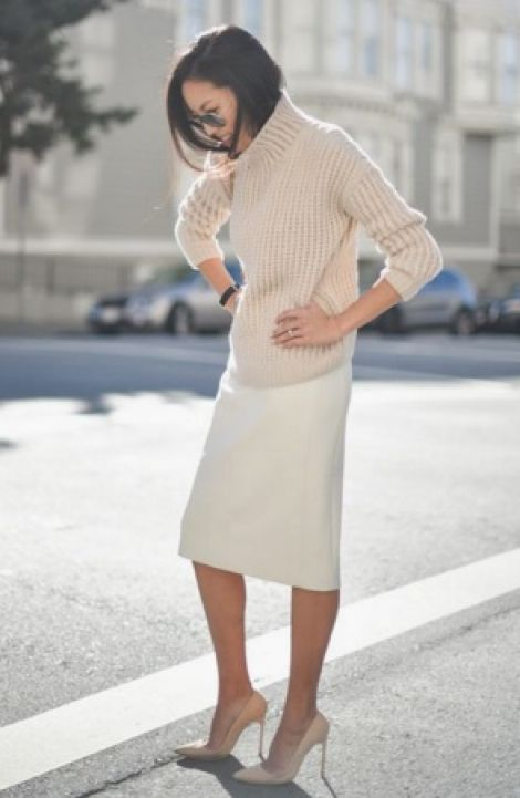 Элегантный стиль. Длина платья