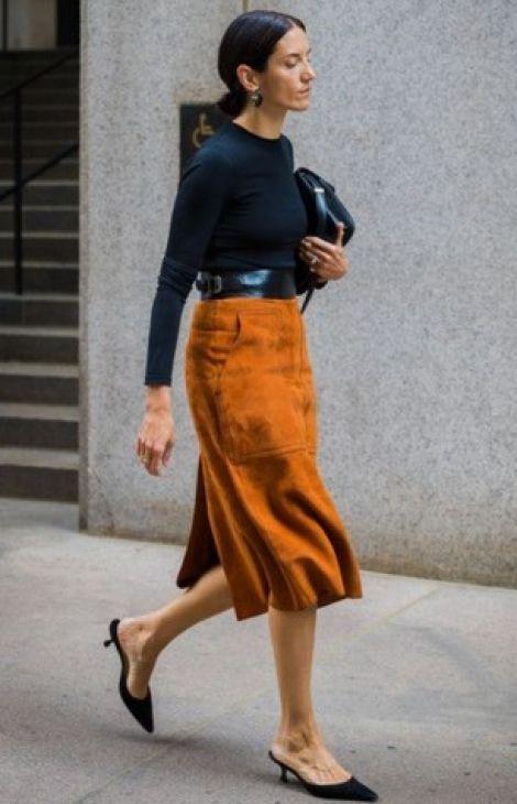 Элегантный стиль. Длина юбки, платья