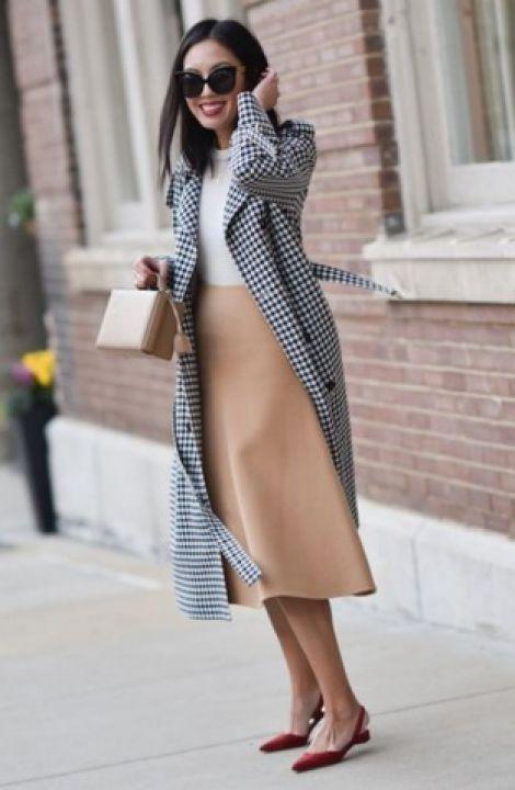 Элегантный стиль. Принт на одежде