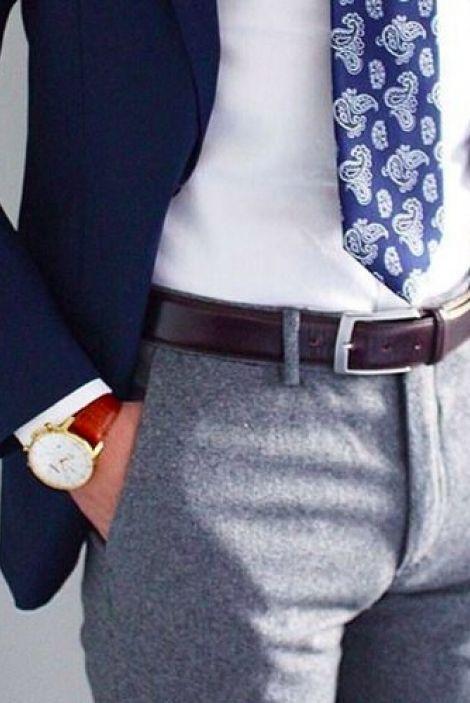 11 правил мужского стиля. Длина галстука