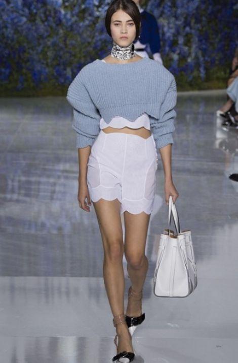 Объемный рукав Christian Dior