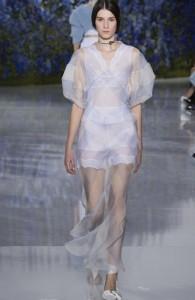 Викторианский стиль Christian Dior