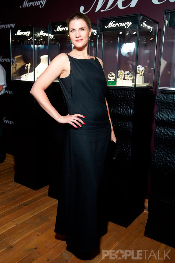 Марьяна Спивак на вечере Mercury, ювелирном партнере Кинотавра.