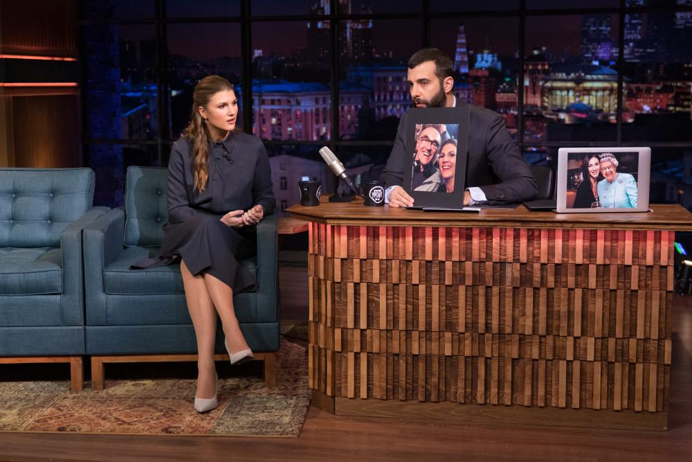 Марьяна Спивак на телепередачи Вечерний Ургант